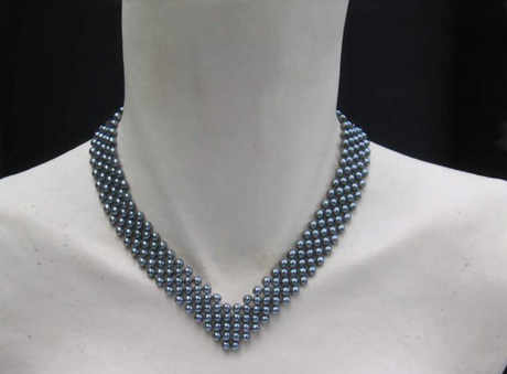 Collier Boules en Perles